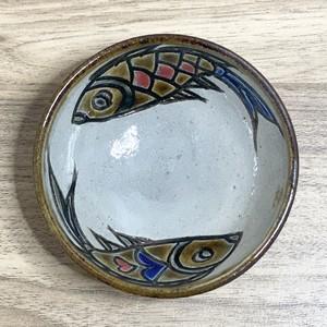 3寸鉢一枚焼き 魚