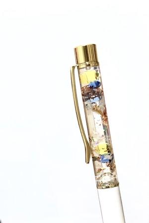 オルゴナイトボールペン(ホワイト)