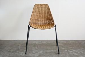 Gian Franco Legler Basket Chair 1950  (A)