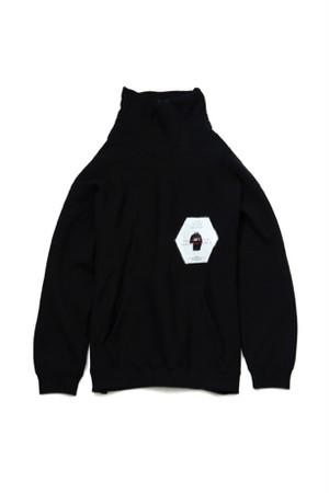 Skateboarding Neckwarm Shirt -BLACK- / soe