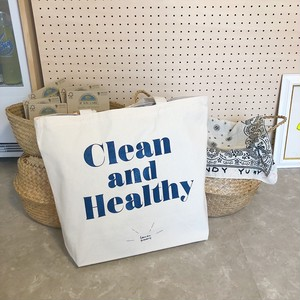 Clean&Healthy トートバッグ