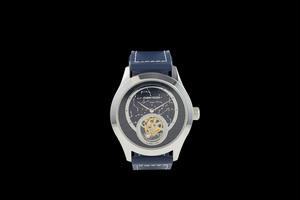 【JOHNNY ROGER Himmel silver 】フライングトゥ-ルビヨン メンズ パワーリザーブ 手巻き腕時計