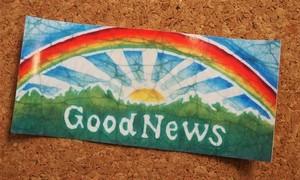 GoodNews Rainbow Sticker