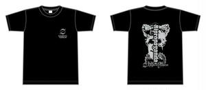 KAQRIYOTERROR Bipropaganda Tシャツ
