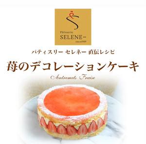 苺のデコレーションケーキの作り方動画