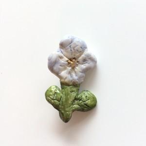 Phraula* 樹脂ブローチ / お花 ビオラ