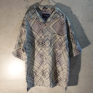 Poly Geometric Design Shirt