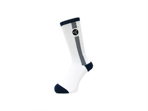 WHIMSY - 32/1 POZESSION SOCKS (White)