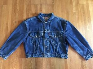ビンテージ Levi's リーバイス チュニジア製 デニムジャケット ジージャン 80s 90s OLD