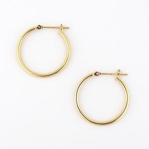 Medium pipe hoop pierce