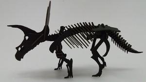 段ボール恐竜BLACKLABEL