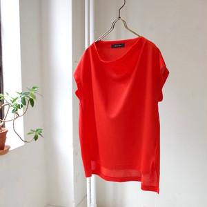 サイドスリット フレンチスリーブTシャツ