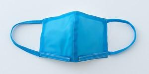 子ども用:【夏向けマスク】ブルー/メッシュ