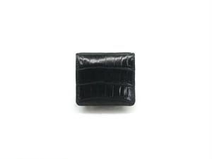 コインケースM クロコダイル 黒