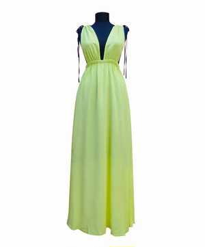 Maxi Night&Resort Dress SicillyLemon マキシナイト&リゾートドレス シチリアレモン