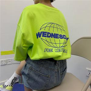【トップス】カジュアル半袖ラウンドネックプルオーバーTシャツ27355418