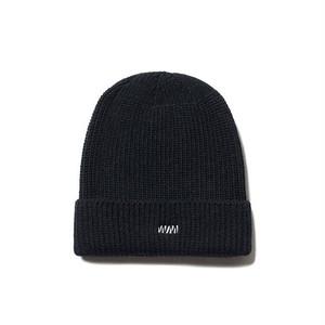 WM LOGO WATCH CAP - BLACK
