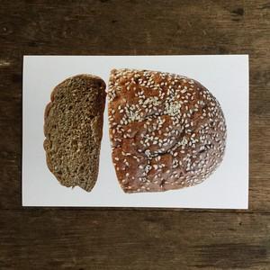 ロシアの黒パン ポストカード