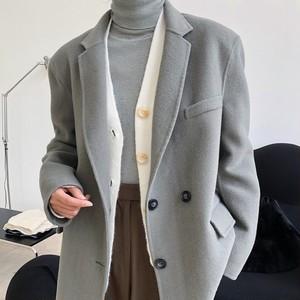 2色/ウールスーツジャケット ・1353