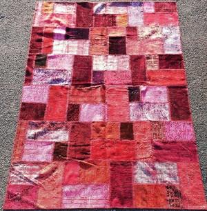 トルコ絨毯パッチワークラグ TEBR30 2120×3080