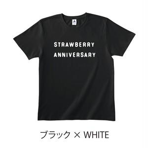 ★受注販売★ 「STRAWBERRY ANNIVERSARY」 T-Shirts [ボディカラー:ブラック] (10月中旬頃から順次発送開始)
