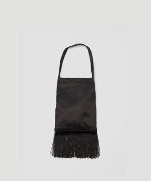 OUR LEGACY Fringe Bag Black A4191FB