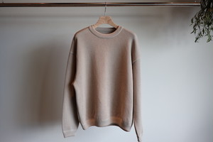 『crepuscule』moss stich L/S sweat