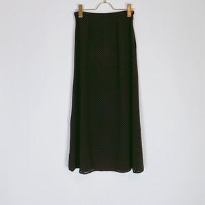 ◼︎90s petit dots silk skirt from U.S.A.◼︎