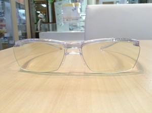 ウルトラガード クリアタイプ☆目の健康と目元を守る「かけるスキンケア」サングラスです。
