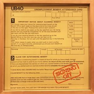 UB40 – Signing Off (LP)
