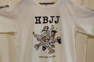 TACOMA FUJI RECORDS / HBJJ L/S T-SHIRTS designed by Jerry UKAI