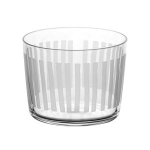 木村硝子店 パタン(PATTERN) 7oz シマシマ グラス 約高さ61×口径80mm 255374