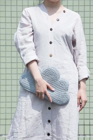 【MIKACHU WORLD】clutch bag (cloud1)