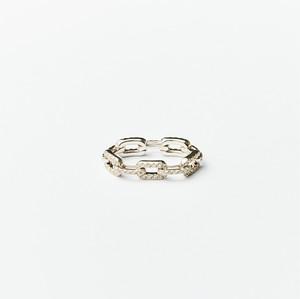 <sequence> リング K18/ダイヤモンド
