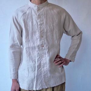 ラグランシャツ(M)  Linen Shirt (M)