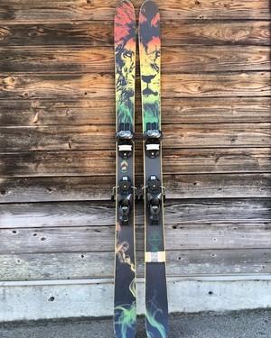 """【中古美品】J skis - THE WHIPIT """"ZANE KUSHMAN"""" 171cm レンタルビンディング付き"""