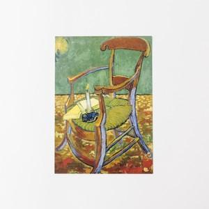 ゴッホ ポストカード ゴーギャンの椅子