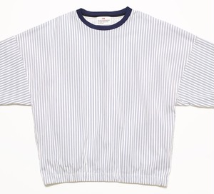 FAT STRIPE CREW - WHITE