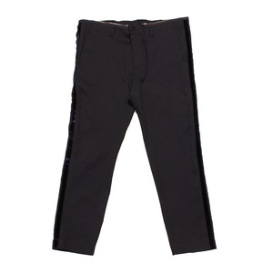 Harris Elliott x Enharmnic TAVERN Jazz Suit Pants  Polyester Mosha Stretch -navy <LSD-AH3P4>
