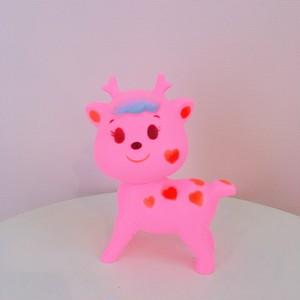 *再入荷【lapin&me × KODAMA】Little Cuties Pink Dear ピンクの子鹿