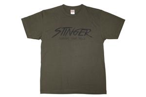STINGER ロゴ Tシャツ アーミーグリーン