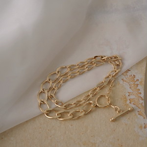 2way necklace bracelet | MBL-06 <gold>