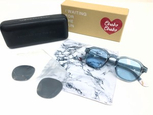 【Chah Chah × / WAITING FOR THE SUN】Sunglasses (gray)