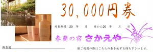 30,000円宿泊券