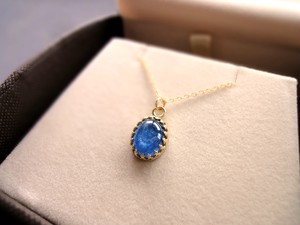 【OUTLET】天然石のネックレス■Classical Gate Pendant■カイヤナイト