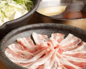追加黒豚豚バラしゃぶしゃぶ肉500g
