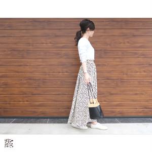 レオパードマキシスカート|M03023