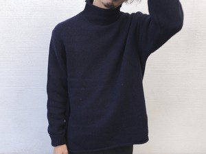 1990's Old Rollneck Wool Knit Sweater