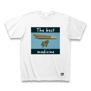 """The best med"" 大麻 Tシャツ"