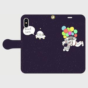 宇宙の風景 iPhone手帳型ケース